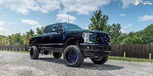 Ford F-250 with Fuel 1-Piece Wheels Stroke - D645