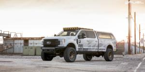 Ford F-250 with Fuel 1-Piece Wheels Vengeance - D687