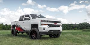 Chevrolet Silverado 1500 with Fuel 1-Piece Wheels Vortex - D638