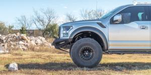 Ford F-150 Raptor with Fuel 1-Piece Wheels Zephyr - D633 [Truck]