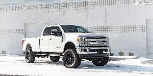 Ford F-250 Super Duty with Fuel 1-Piece Wheels Baja - D626