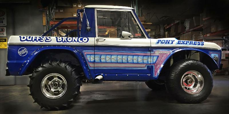 Ford Bronco Vintage 1 Piece Cast Indy - U101 Truck