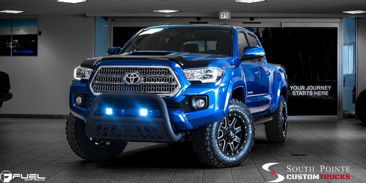 265 70r17 All Terrain Tires >> Toyota Tacoma Maverick - D538 Gallery - MHT Wheels Inc.