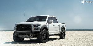 Ford F-150 Raptor with Fuel 1-Piece Wheels Sledge - D596