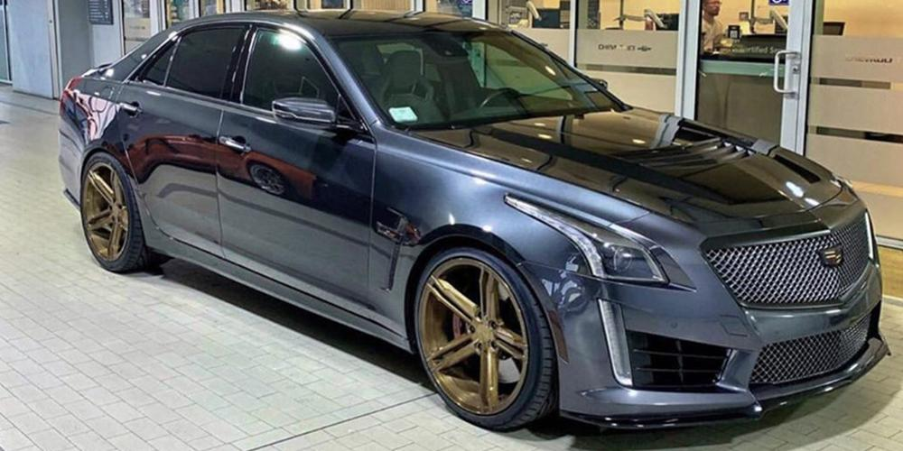 Cadillac CT6 Verde Form VFF03