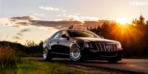 Cadillac CTS with Rotiform CCV