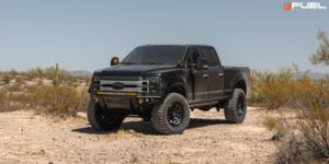 Ford F-250 Super Duty with Fuel 1-Piece Wheels Covert - D716
