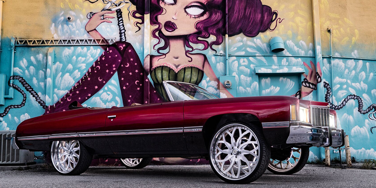 Chevrolet Caprice with Asanti Forged Wheels AF821
