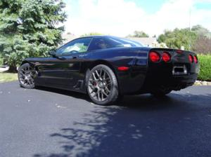 Chevrolet Corvette with TSW Nurburgring