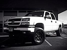 Chevrolet Silverado with Black Rhino Glamis