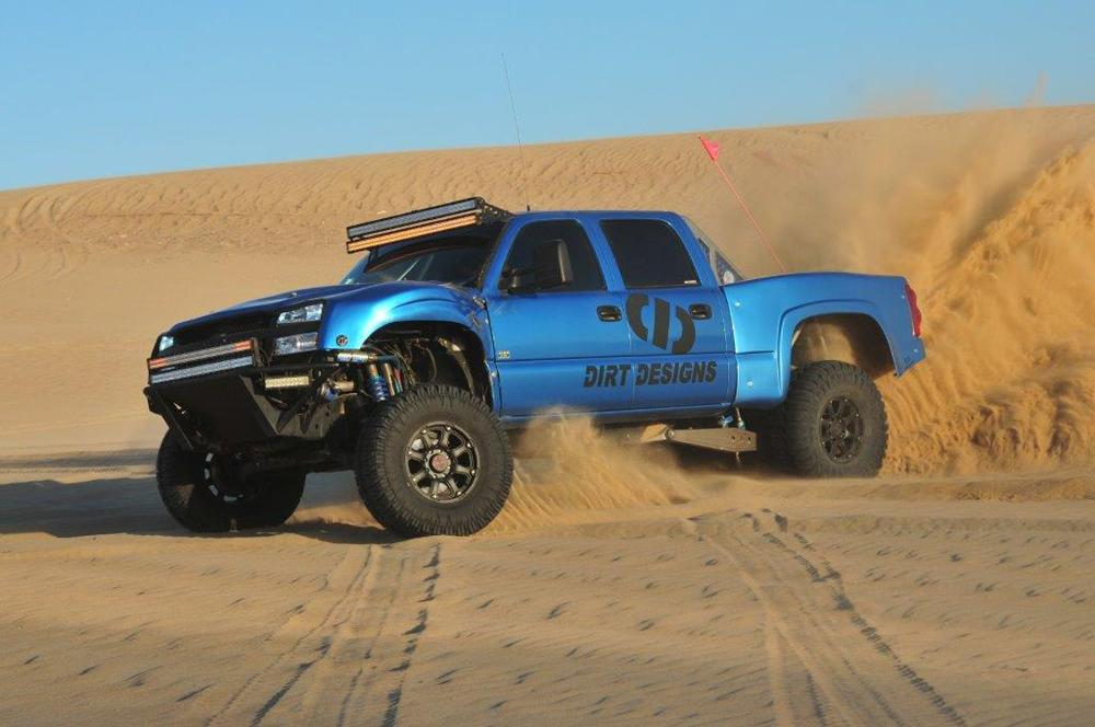 Chevrolet Silverado with Black Rhino Glamis