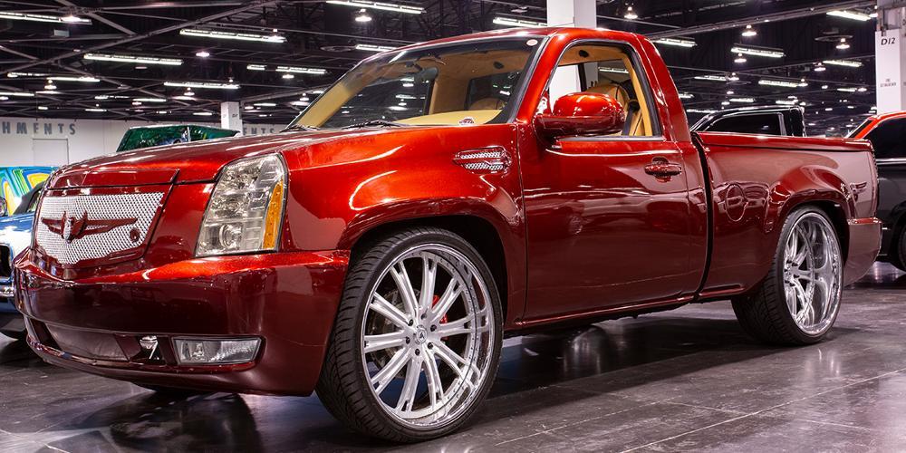 Chevrolet Silverado with V/A Five Axis VF606