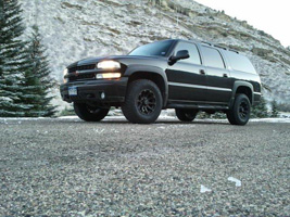 Chevrolet Suburban with Black Rhino Sidewinder
