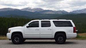 Chevrolet Suburban with Black Rhino Sierra
