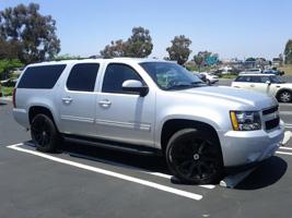 Chevrolet Suburban with Black Rhino Traverse