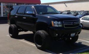 Chevrolet Tahoe with Black Rhino Glamis