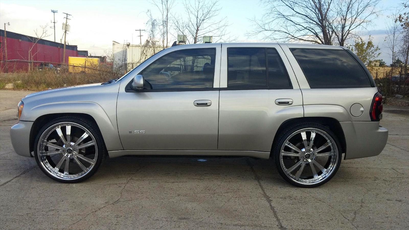 Chevrolet Trailblazer Raggio Gallery - RNR Wheels
