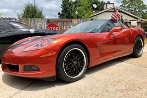 Chevrolet Corvette with Cray Manta