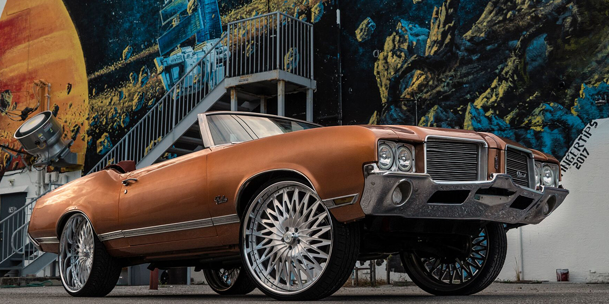 Oldsmobile Cutlass with Asanti Forged Wheels AF828