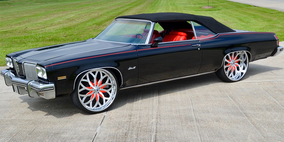 Oldsmobile Delta 88 with Asanti Forged Wheels AF821