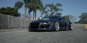 Audi R8 with Rotiform LHR