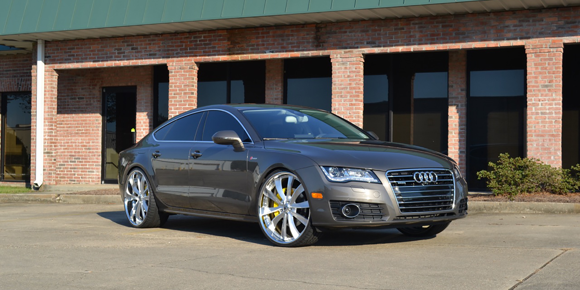 Audi A7 Quattro with Asanti Forged Wheels CX505