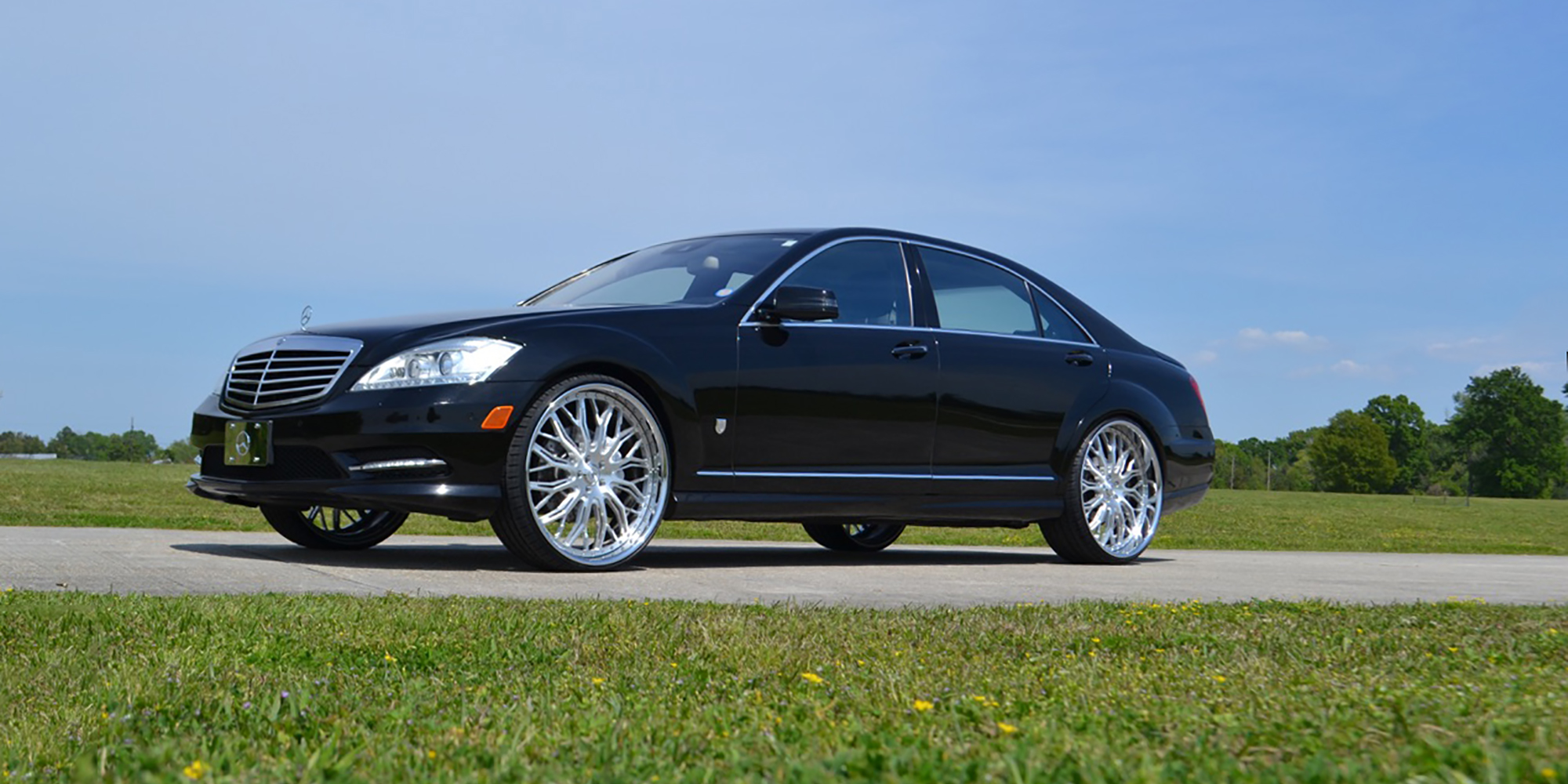 Mercedes-Benz S550 with Asanti Forged Wheels A/F Series AF866