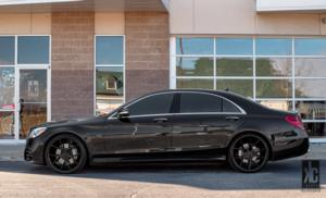 Mercedes-Benz S560 with