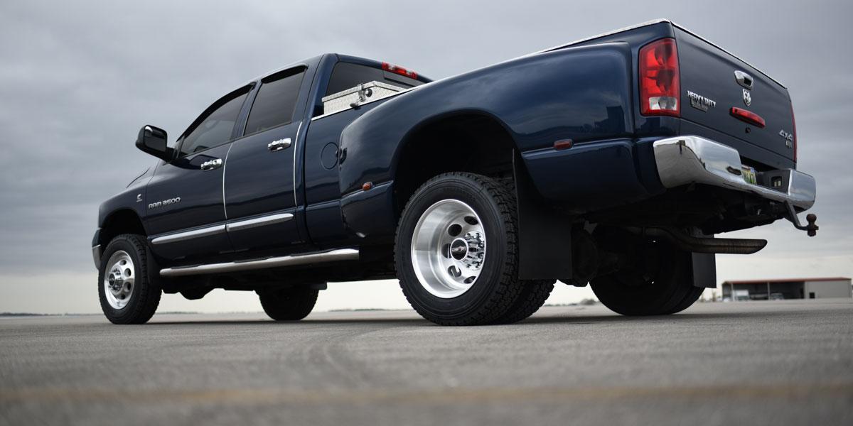 Dodge Ram 2500 181 Hauler Duallie Gallery - Vision Wheel
