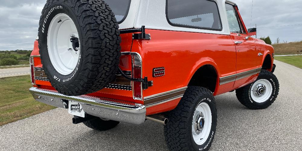 Chevrolet Blazer Rat Rod (Series 66) Extended Sizing