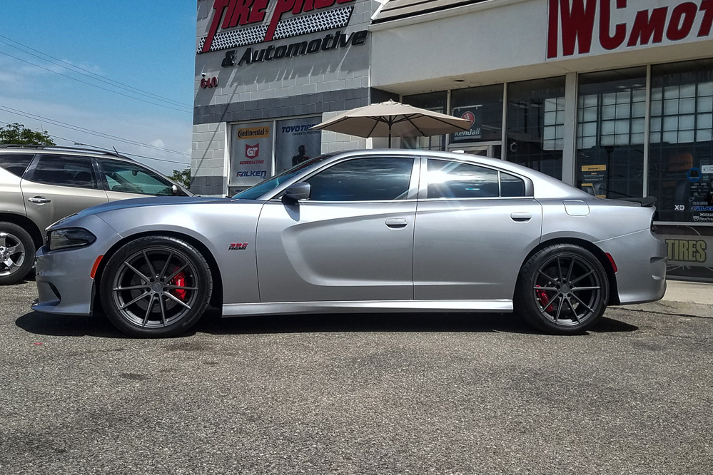 Dodge Charger with TSW Bathurst