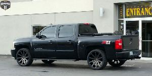 Shot Calla - S121 on Chevrolet Silverado 1500