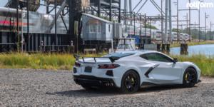 Chevrolet Corvette with Rotiform KPS