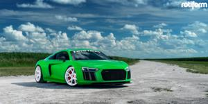 Audi R8 with Rotiform KPS