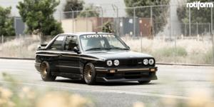BMW M3 with Rotiform LHR-F