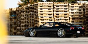 Ferrari F355 Berlinetta with Rotiform TUF-R