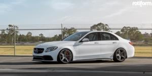 WGR on Mercedes-Benz C63s AMG