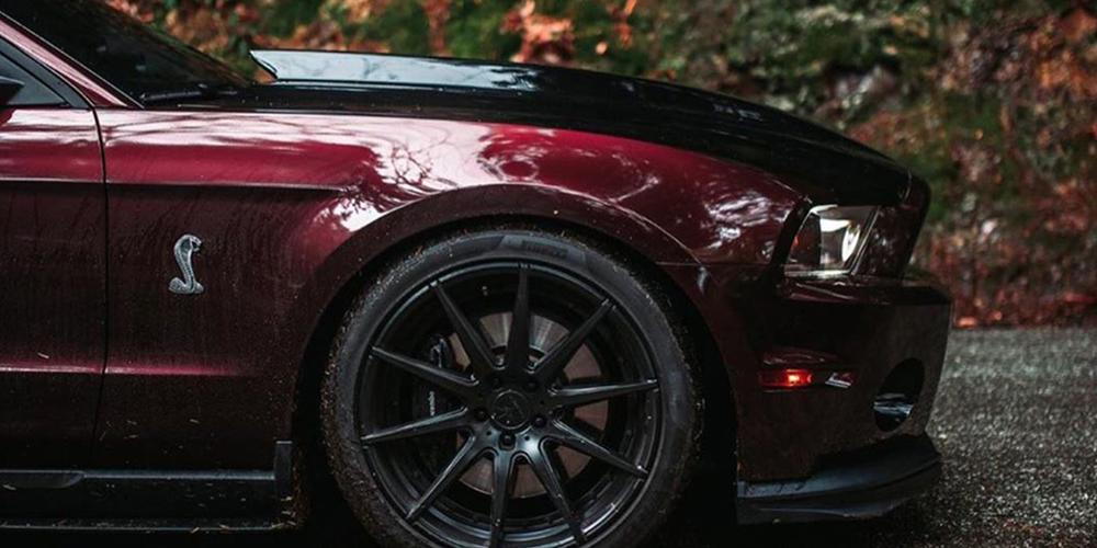 Ford Mustang Verde Wheels V20 Insignia