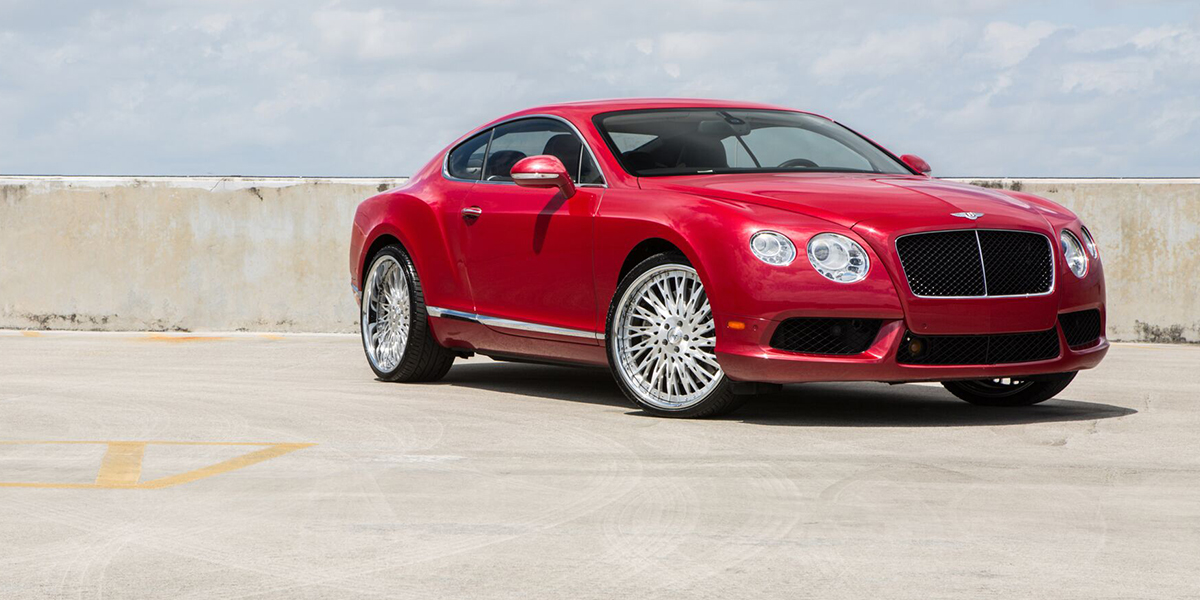 Bentley Continental with Asanti Forged Wheels FS14