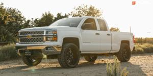Lockdown - D747 on Chevrolet Silverado