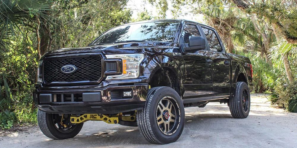 Ford F-150 with Asanti Off-Road AB809 Enforcer