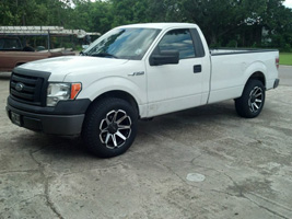 Ford F-150 with Tuff A.T. Wheels T-05