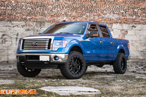 Ford F-150 with Tuff A.T. Wheels T-15
