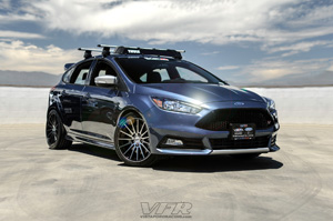 Ford Focus with TSW Chicane