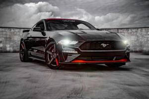 Ford Mustang with TSW Ascent