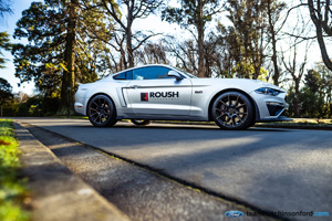 Ford Mustang with TSW Chrono