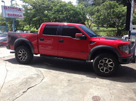 Ford Raptor with Tuff A.T. Wheels T-05