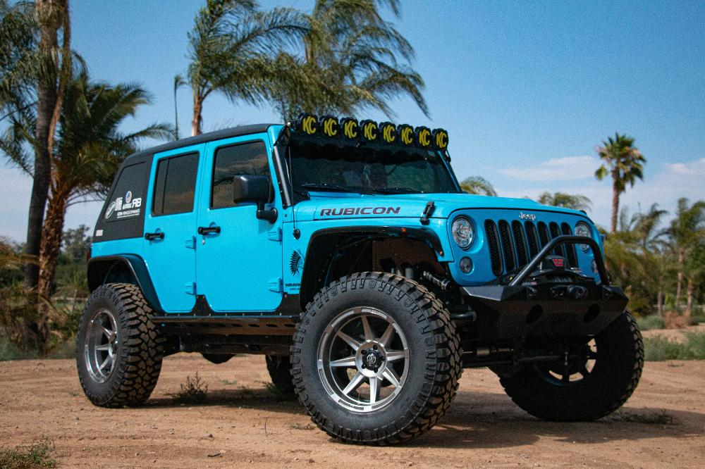 Jeep Wrangler Icon Alloys Bandit