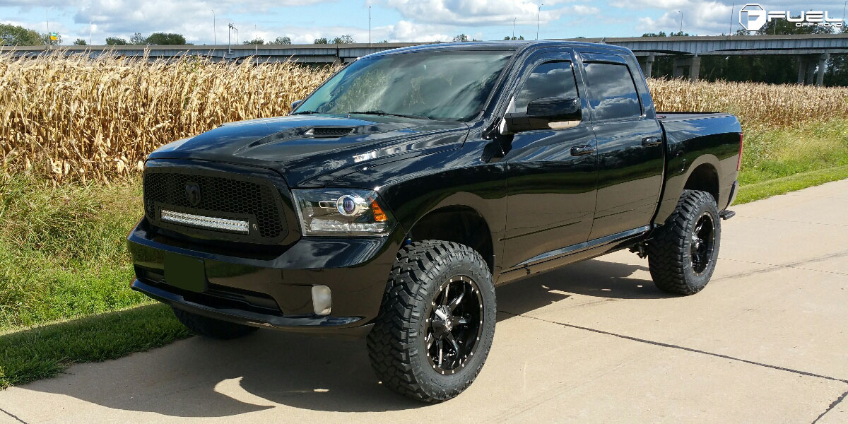 Dodge Ram 1500 Wheels And Tires Packages >> Dodge Ram 1500 Nutz D251 Gallery Mht Wheels Inc