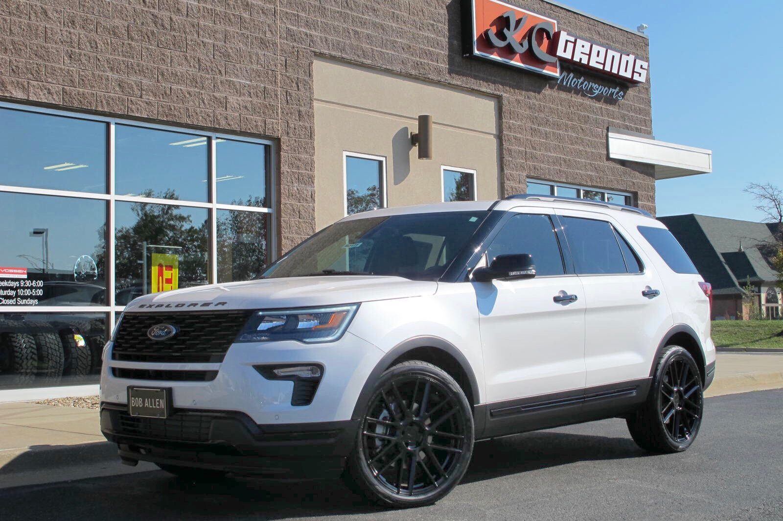 Ford Explorer Mosport